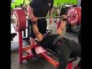 Ларри Уилс жим лежа 285 кг личный рекорд