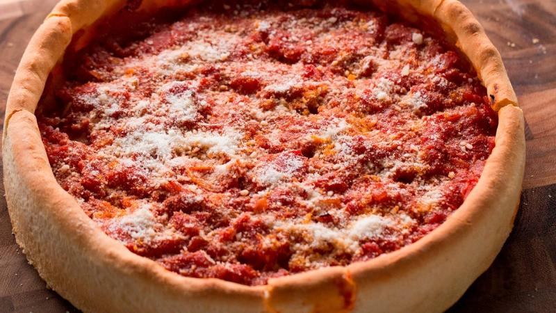 Homemade Deep Dish Pizza смотреть онлайн без регистрации