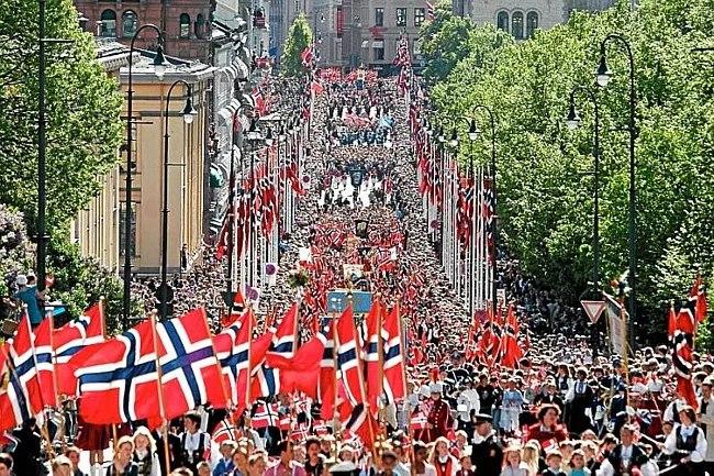 Норвежцев становится больше