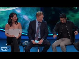 Kumail Nanjiani Olivia Munn_ Beware Of Stink Shoulder At Comic-Con® - CONAN on