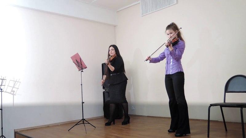 Элина Байгузина и Дениза Альмухаметова (Бах)