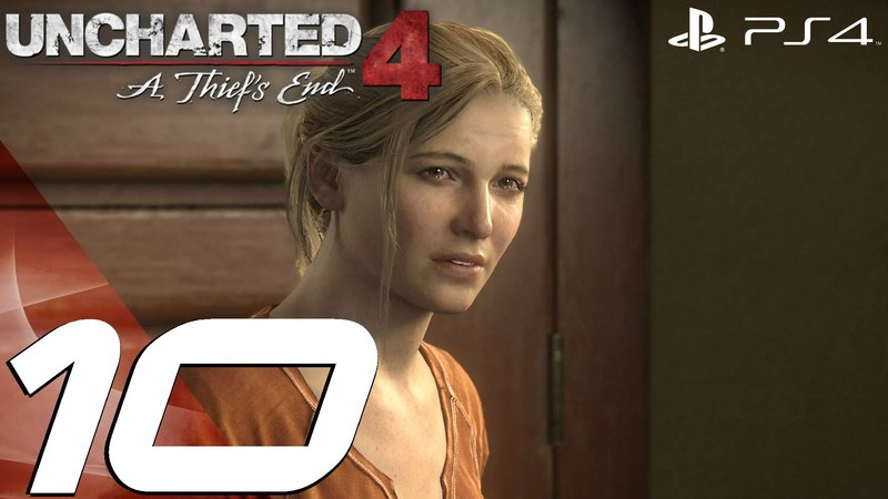 Uncharted 4 A Thief's End - Gameplay Walkthrough Part 10 - Sam's Pursuit Tank Chase