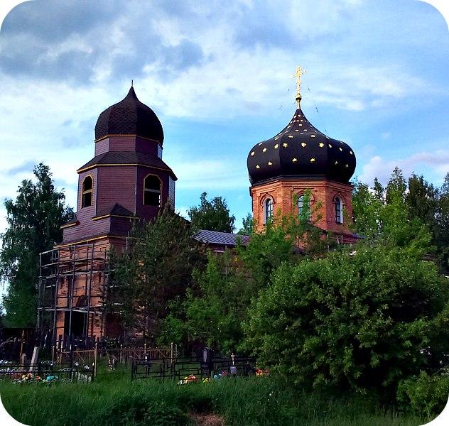 Церковь Николая Чудотворца (Жабки, Егорьевское шоссе)