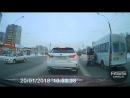 Драка таксиста и маршрутчика Омск