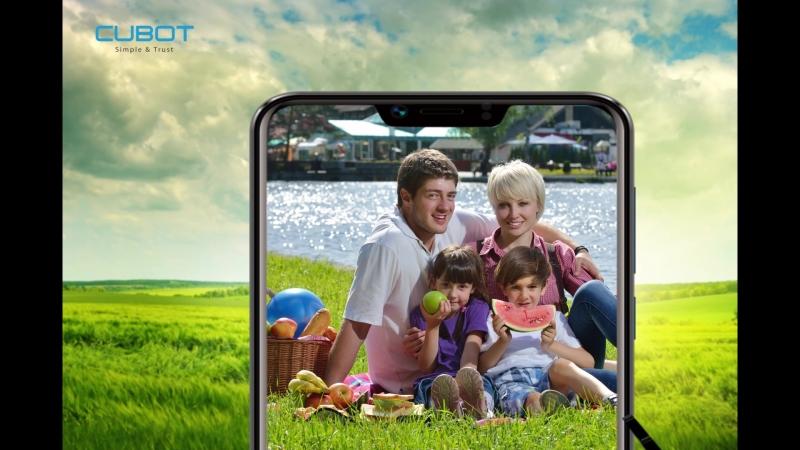 The notch screen phone CubotP20