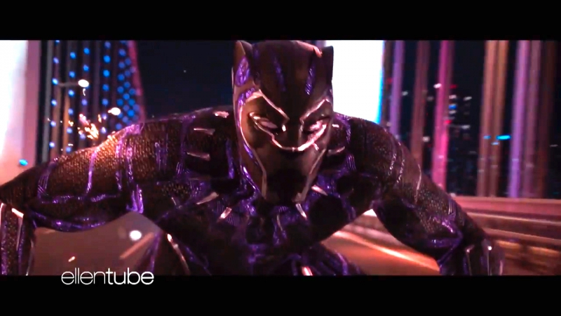 Black Panther - Car Chase Clip