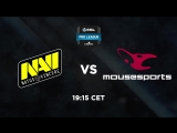 NAVI vs mousespots @ESL Pro League S7