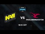 NAVI vs mousespots @ESL Pro League S7