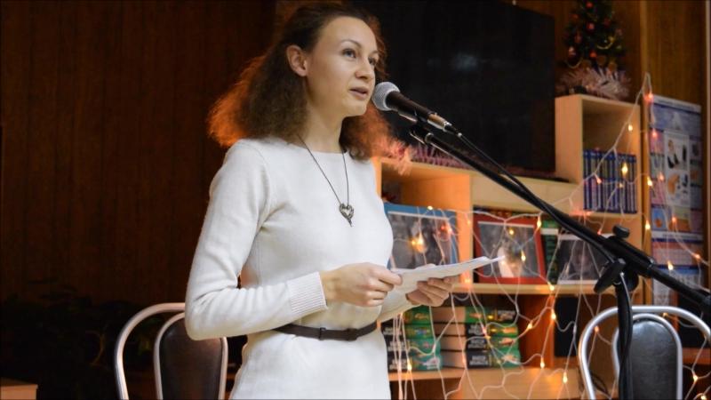 Наталья Красюкова. Мелодекламация стихотворений Веры Павловой.