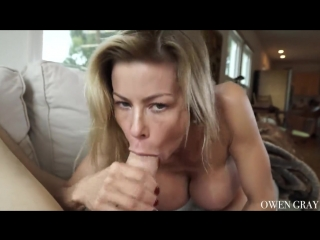 Alexis fawx - milf passionate creampie sex (milf, blowjob, all sex, big tits, creampie, blonde)