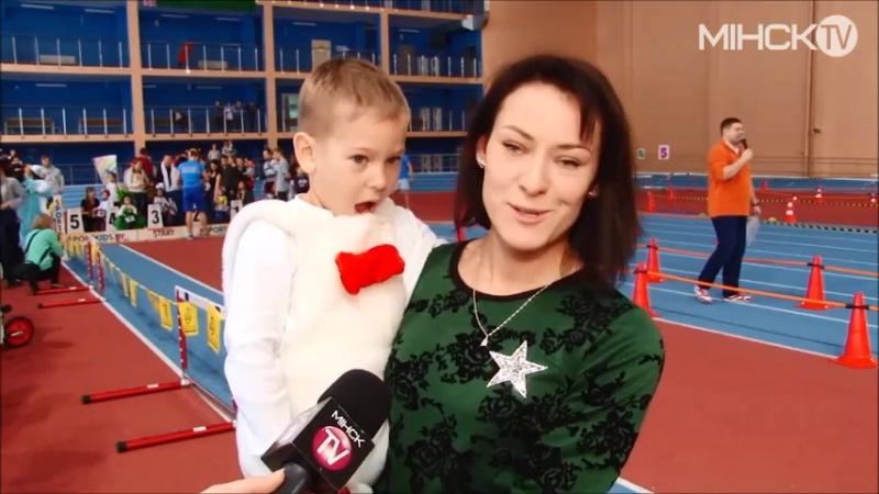 Беговелогонка SportKidsCup в репортаже Минск ТВ