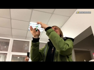 Аркадий Цареградцев в Краснодаре преподал урок дрифта