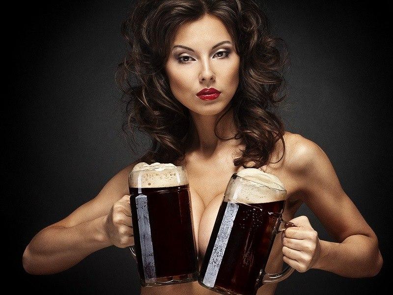 Ты спросишь меня, что я люблю больше, тебя или пиво...