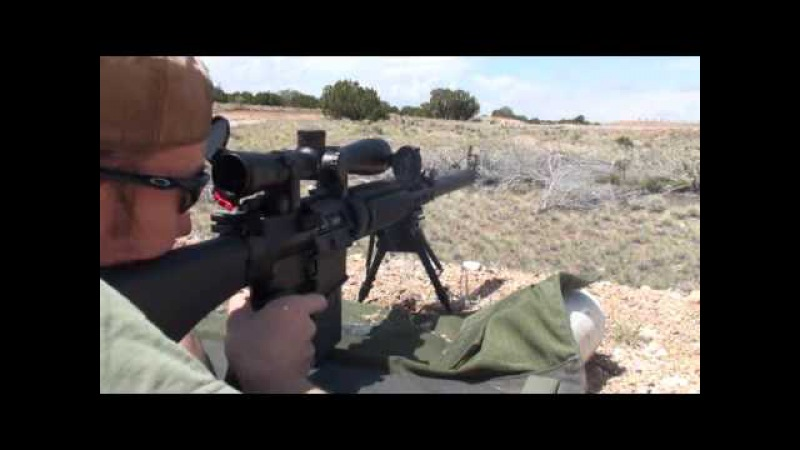 Knight's Armament Mk11 Mod 0 with KAC Suppressor 800 Yards