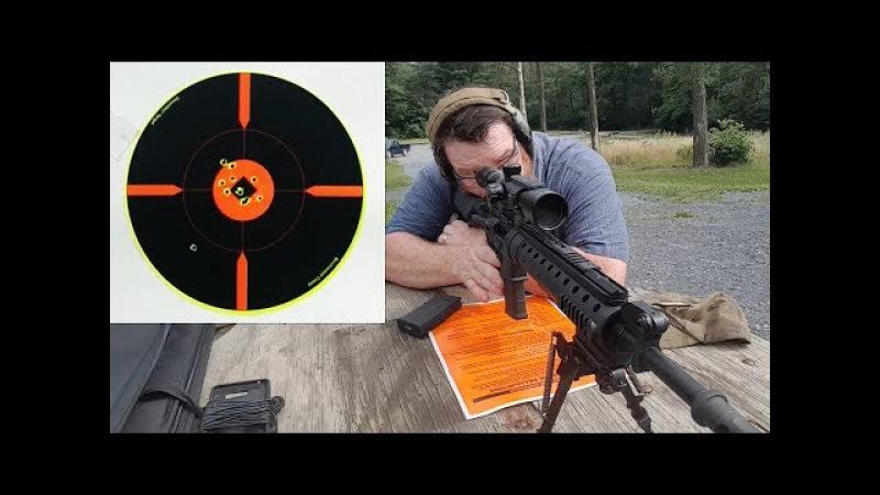 Xtreme Bullets .223 55Gr FMJ Range Test with Mk12 Mod0