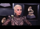 Lady Gaga on the Red Carpet Fashion Cam Red Carpet 60th GRAMMYs