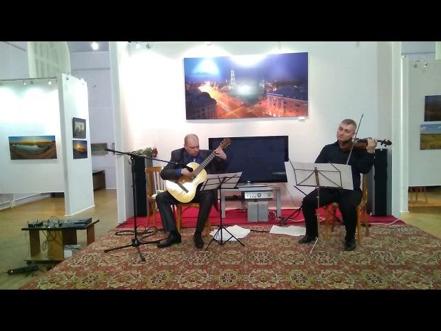 3. Jose Luis Merlin Al Peregrino de la Al Cristo de la Quebrada (para violín y guitarra)