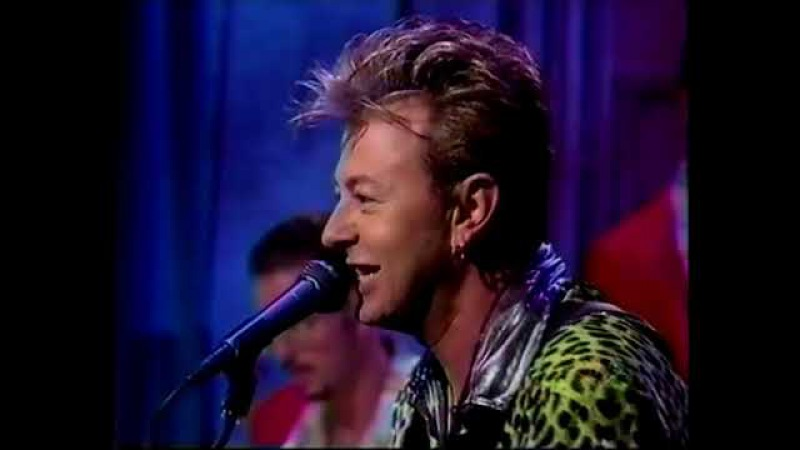 Brian Setzer Orchestra - Rumble in Brighton Rock This Town Live on Conan 1996