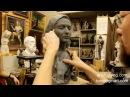 Уточнение форм и масс Обучение скульптуре Портрет 33 серия