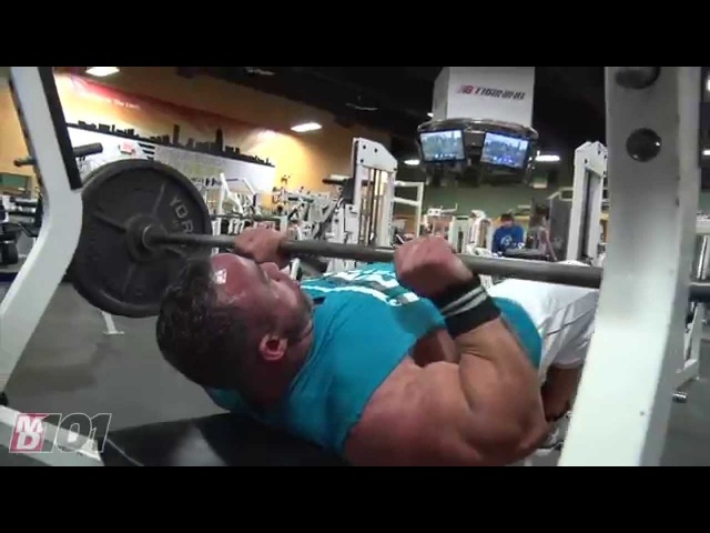 MD 101 Jose Raymond on Close Grip Bench Press