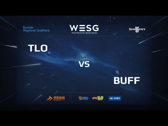 TLO vs Buff, WESG 2018 Germany Qualifier