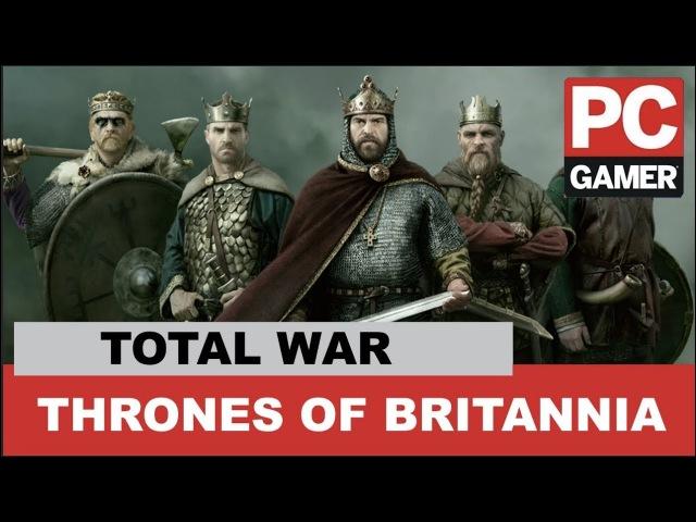 Total War: Thrones of Britannia Developer Interview - PC Gamer Weekender Live Stream