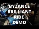 Byzance Brilliant Series Ride Cymbals Morph Comparison
