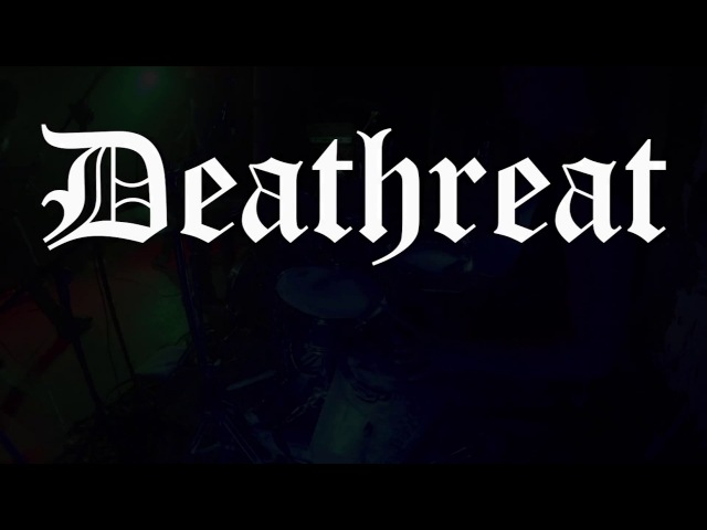 DEATHREAT@Aid Unloked For-DQ-live in Kraków 2017 (Drum Cam)