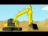 Learn Colors for Kids with Color Car & Excavator Video for Children