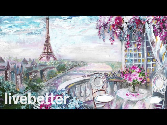 Cafe París Romántico: Música Francesa Instrumental Romántica Relajante Tradicional con Acordeon 2017