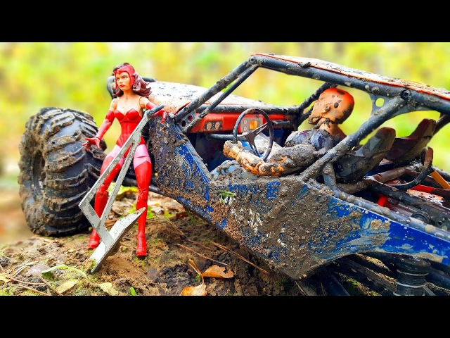 RC Car Extreme OFF Road — Axial Wraith 4x4 — RC Extreme Pictures