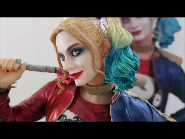 DC Collectibles Harley Quinn Statue UnboxingReview/Распаковка и Обзор статуэтки Харли Квин