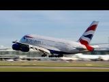 VERY LOW GO-AROUND British Airways Airbus A380-841 G-XLEH at YVR