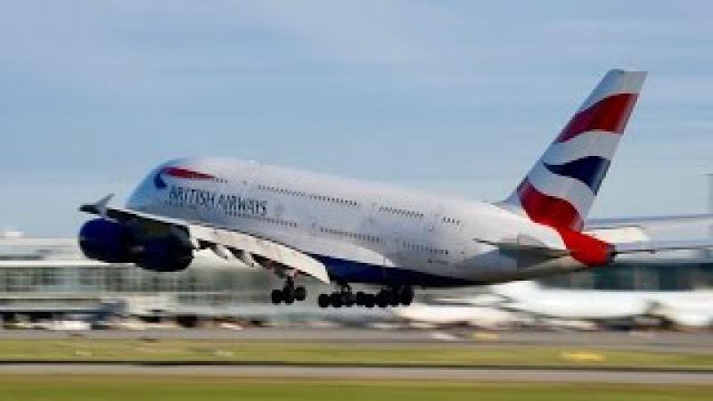 **VERY LOW GO-AROUND** British Airways Airbus A380-841 [G-XLEH] at YVR