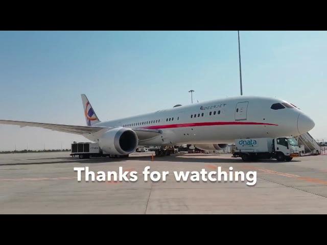 Внутри частного Boeing 787 Dreamliner