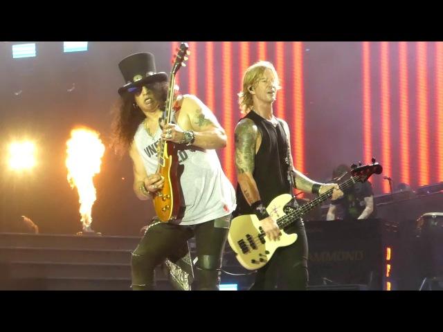 Paradise City Guns N Roses@Hersheypark PA Stadium 8/13/17