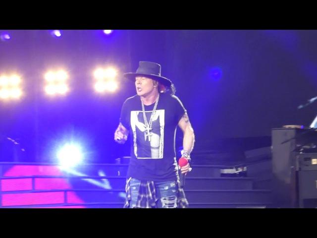 Live and Let Die Guns N Roses@Hersheypark PA Stadium 8/13/17