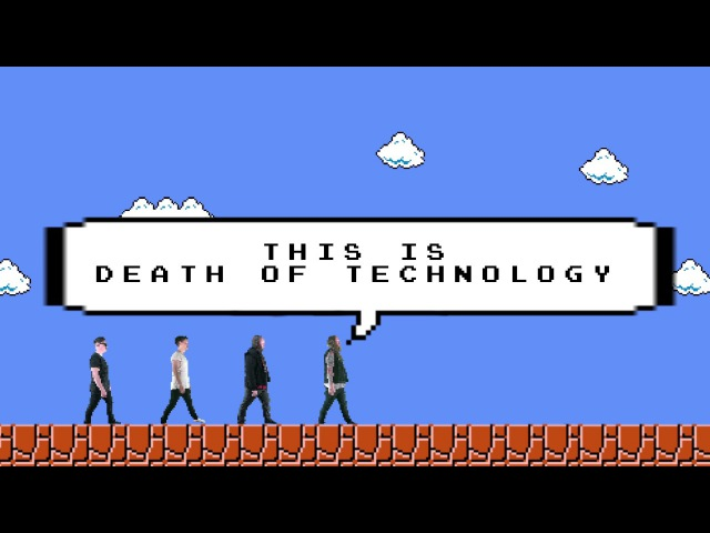 Eyes Wide Open - Death of Technology (Official Lyric Video)