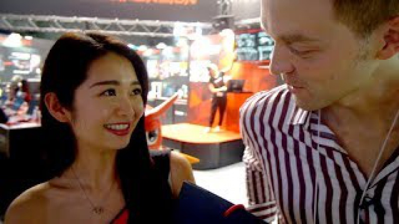 Подошел к самым красивым японкам на TGS 2017 Поговорил о бизнесе в Японии с основателем Wargaming