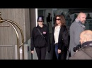 EXCLUSIVE : Cindy Crawford and daughter Kaia Gerber arriving at Paris airport