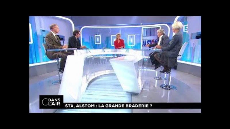 STX, Alstom : la grande braderie ? cdanslair 28.09.2017