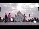 Яркий танцевальный флешмоб на День Рождения под песню Улыбайся с Простые Радости