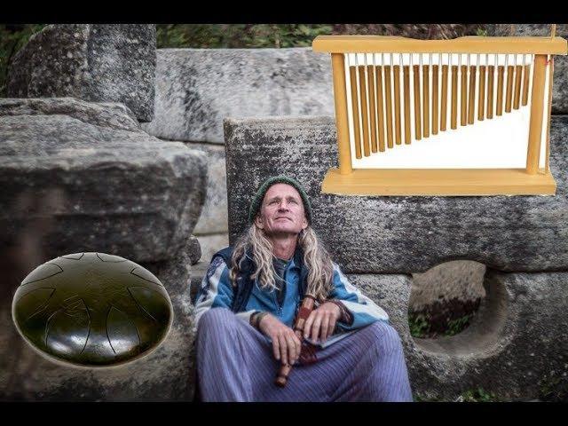 Игорь Титченко играет на глюкофоне и тубафоне. Координаты дольменов Геленджика....