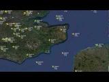 London Terminal Control - 120.525 - ATC wRadar - 17022013