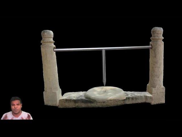 В поисках утраченных технологий - древний токарный станок
