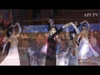 Танцевальный коллектив Valery на Русском Балу в Кремле 31.12.2016