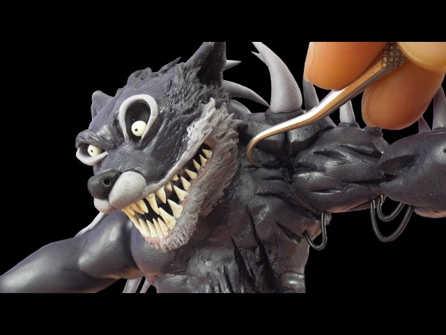 Making Twisted Wolf from Five Night's at Freddy's Twisted Ones