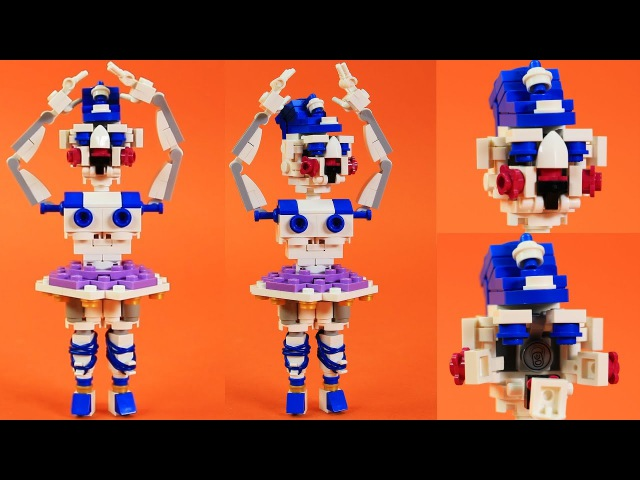 How to Build LEGO FNaF Ballora | Five Nights at Freddy's Sister Location Custom Build