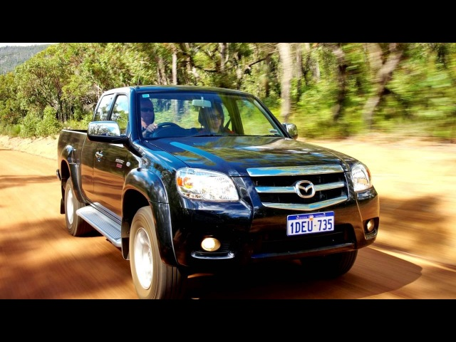 Mazda BT 50 Boss Freestyle Cab AU spec J97M '2008–11