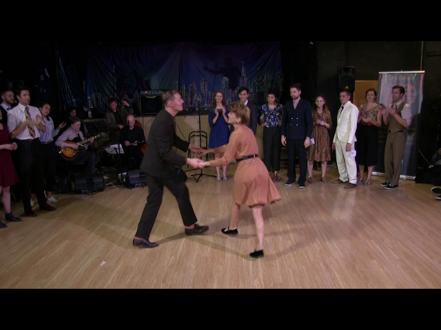 Dmitry Vostrikov Daria Chupyrkina Lindy Hop Advanced Strictly Finals at Sultans of Swing 2017